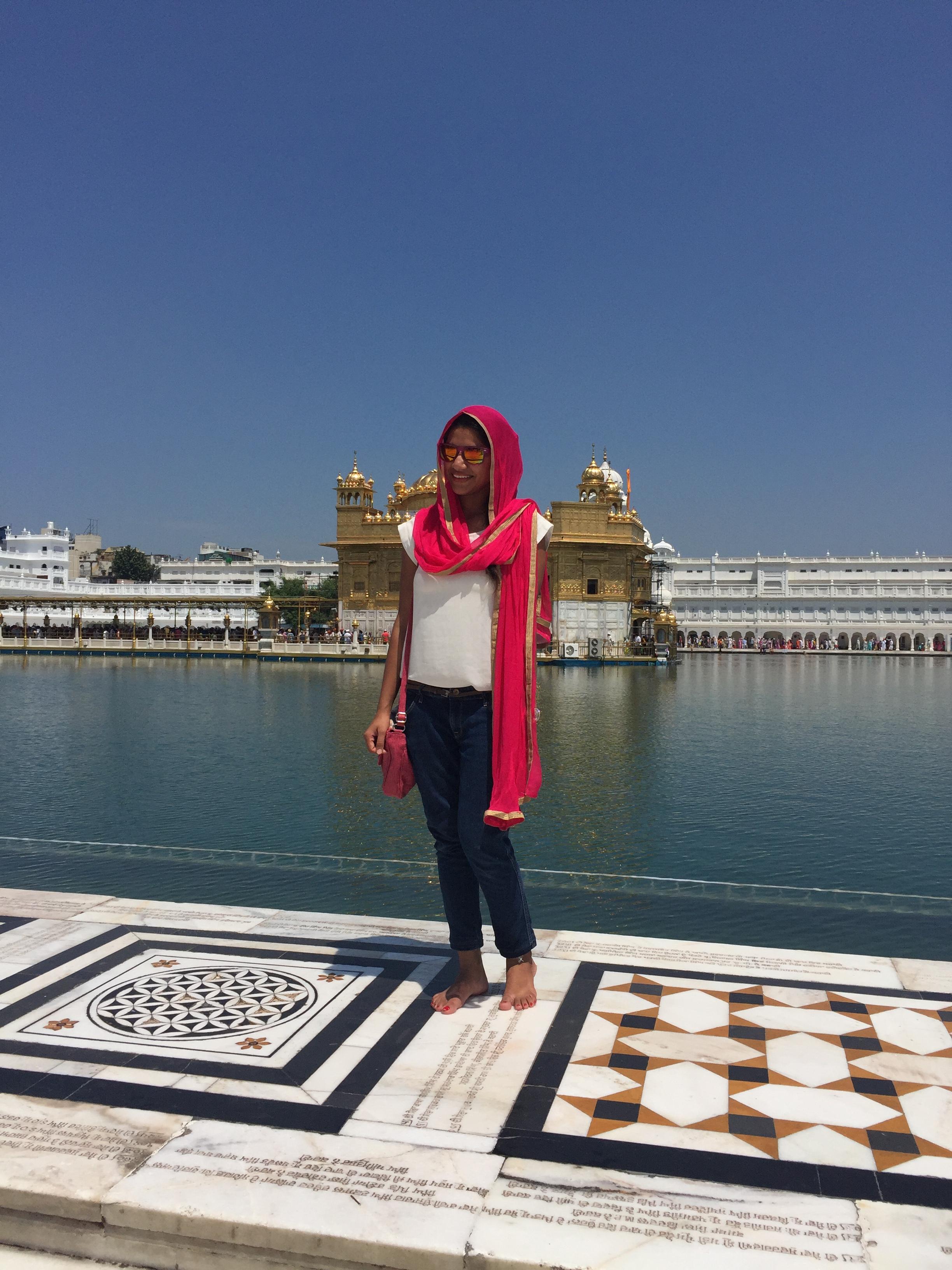El Templo Dorado Amritsar India