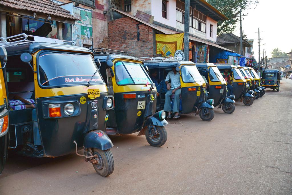 Estafas de turismo en India -cuidado con los altos precios del transporte.