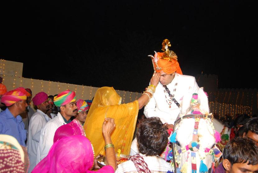 Como son las bodas en India