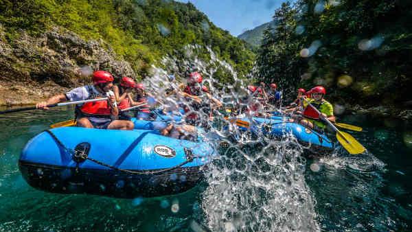 Mejores lugares de India para hacer rafting
