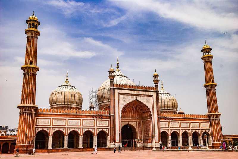 Monumentos en la India