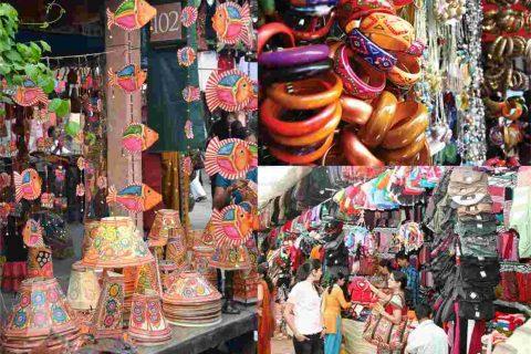 Famosos destinos de compras en Delhi