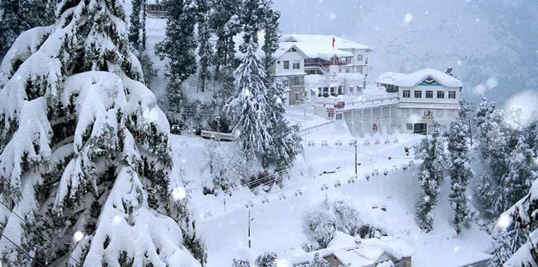 Lugares de nieve en la India