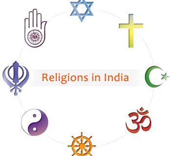 Religiones de India