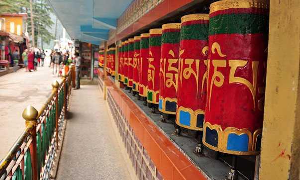 Visita el templo Dalai Lama Dharamshala