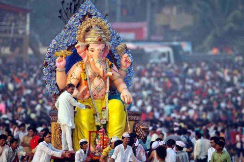 El festival de Ganesha