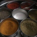 Especias de india
