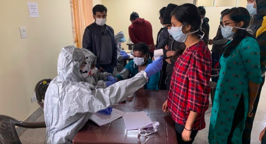Viaje a India con coronavirus