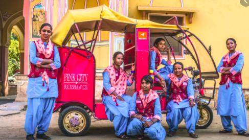 pink rickshaw company